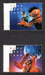 Poštovní známky Nizozemí 1996 Sezamová ulice Mi# 1588-89