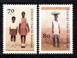 Poštovní známky Nizozemí 1996 UNICEF, 50. výroèí Mi# 1590-91