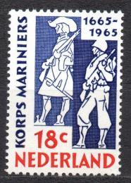 Poštovní známka Nizozemí 1965 Námoønictvo Mi# 855