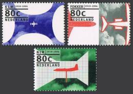 Poštovní známky Nizozemí 1994 Výroèí Mi# 1508-10
