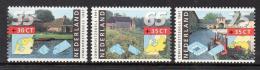 Poštovní známky Nizozemí 1991 Selské dvory Mi# 1403-05