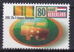 Poštovní známka Nizozemí 1991 Ètyødenní pochod, 75. výroèí Mi# 1417