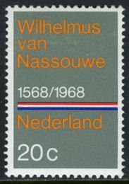 Poštovní známka Nizozemí 1968 Státní hymna, 400. výroèí Mi# 901