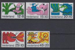 Poštovní známky Nizozemí 1968 Pohádky Mi# 905-09