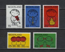 Poštovní známky Nizozemí 1969 Kresby, Dick Bruna Mi# 928-32