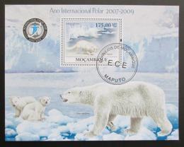 Poštovní známka Mosambik 2009 Mezinárodní polární rok Mi# Block 288 Kat 10€