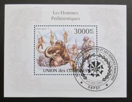 Poštovní známka Komory 2009 Pravìk, praèlovìk Mi# Block 580 Kat 15€ - zvìtšit obrázek