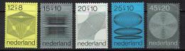 Poštovní známky Nizozemí 1970 Poèítaèová grafika Mi# 936-40