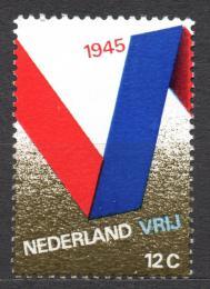 Poštovní známka Nizozemí 1970 Výroèí osvobození Mi# 941