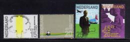 Poštovní známky Nizozemí 1971 Princ Bernhard Mi# 965-68