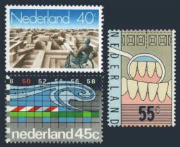 Poštovní známky Nizozemí 1977 Výroèí Mi# 1106-08