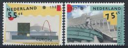 Poštovní známky Nizozemí 1987 Evropa CEPT Mi# 1318-19