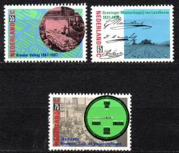 Poštovní známky Nizozemí 1987 Výroèí Mi# 1320-22