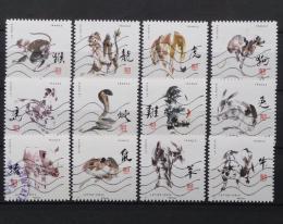 Poštovní známky Francie 2017 Èínská zvíøecí znamení Mi# 6667-78 Kat 20€