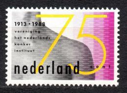 Poštovní známka Nizozemí 1988 Léèba rakoviny Mi# 1342