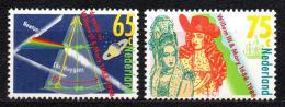 Poštovní známka Nizozemí 1988 Revoluce v Anglii Mi# 1345-46