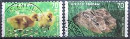 Poštovní známky Nìmecko 2016 Mláïata Mi# 3222-23