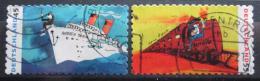 Poštovní známky Nìmecko 2010 Umìní, doprava Mi# 2803-04