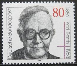Poštovní známka Nìmecko 1986 Karl Barth, teolog Mi# 1282