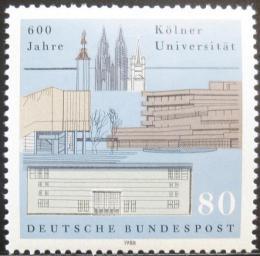 Poštovní známka Nìmecko 1988 Univerzita v Kölnu Mi# 1370