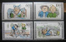 Poštovní známky Nìmecko 1990 Max a Moritz Mi# 1455-58