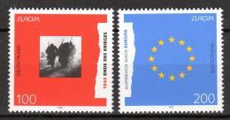 Poštovní známky Nìmecko 1995 Evropa CEPT Mi# 1790-91