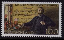Poštovní známka Nìmecko 1995 Alfred Nobel Mi# 1828