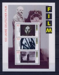 Poštovní známky Nìmecko 1995 Nìmecký film Mi# Block 33
