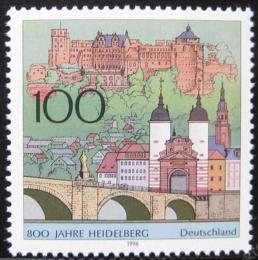 Poštovní známka Nìmecko 1996 Heidelberg, 800. výroèí Mi# 1868