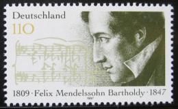 Poštovní známka Nìmecko 1997 Felix Mendelssohn-Bartholdy, skladatel Mi# 1953
