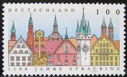 Poštovní známka Nìmecko 1997 Straubing, 1100. výroèí Mi# 1910