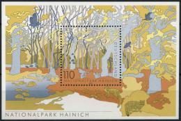 Poštovní známka Nìmecko 2000 Hainich NP Mi# Block 52