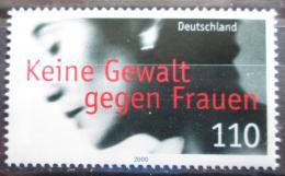 Poštovní známka Nìmecko 2000 Stop násilí proti ženám Mi# 2093