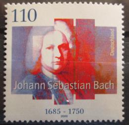 Poštovní známka Nìmecko 2000 Johann Sebastian Bach Mi# 2126