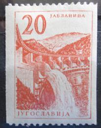 Poštovní známka Jugoslávie 1959 Jablanica Mi# 899 Kat 8€