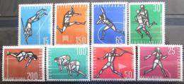 Poštovní známky Jugoslávie 1962 ME v lehké atletice Mi# 1016-23 Kat 20€
