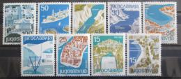 Poštovní známky Jugoslávie 1962 Turistické destinace Mi# 994-1002 Kat 12€