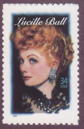 Poštovní známka USA 2001 Lucille Ball, hereèka Mi# 3477