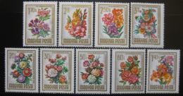 Poštovní známky Maïarsko 1965 Kvìtiny Mi# 2111-19