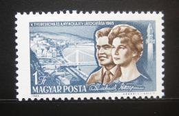 Poštovní známka Maïarsko 1965 Kosmonauti Mi# 2123