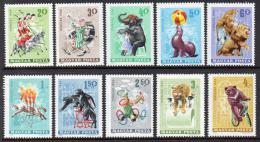 Poštovní známky Maïarsko 1965 Cirkus Mi# 2141-50