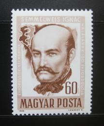 Poštovní známka Maïarsko 1965 Ignaz Semmelweis Mi# 2163