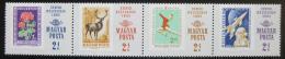 Poštovní známky Maïarsko 1965 Den známek Mi# 2175-78