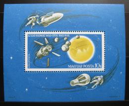 Poštovní známka Maïarsko 1965 Prùzkum vesmíru Mi# Block 52