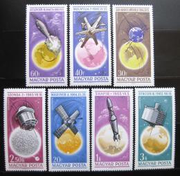 Poštovní známky Maïarsko 1965 Prùzkum vesmíru Mi# 2194-2200