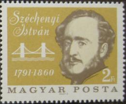 Poštovní známka Maïarsko 1966 István Széchenyi Mi# 2238