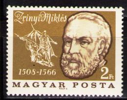 Poštovní známka Maïarsko 1966 Miklós Zrinyi Mi# 2252