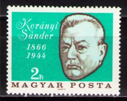 Poštovní známka Maïarsko 1966 Sándor Korányi, lékaø Mi# 2253