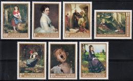 Poštovní známky Maïarsko 1966 Umìní Mi# 2291-97