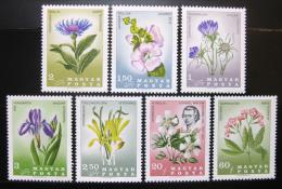Poštovní známky Maïarsko 1967 Kvìtiny Mi# 2307-13